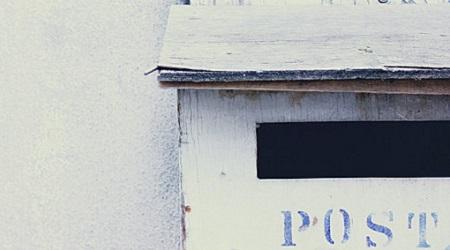 空き家郵便