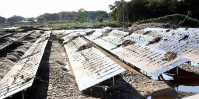 太陽光発電水害リスク