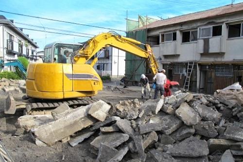 建物の解体